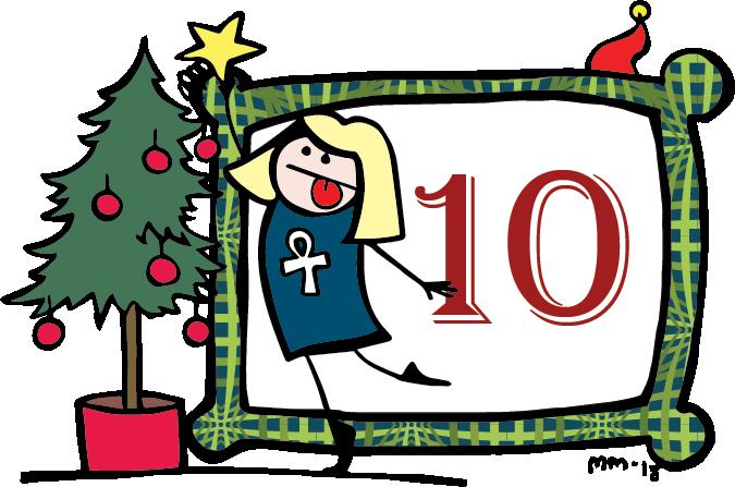 Nörttityttöjen joulukalenteri – Luukku 10: Elokuvat