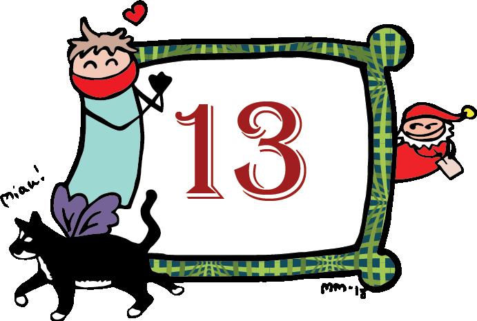 Nörttityttöjen joulukalenteri – Luukku 13: Instagram- ja blogisuositukset