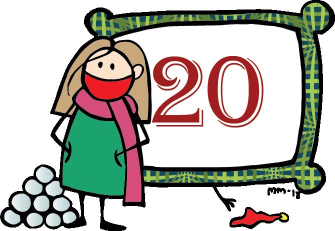 Nörttityttöjen joulukalenteri – luukku 20: Käsitöitä