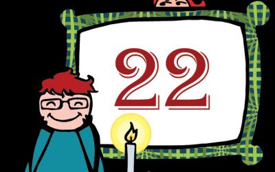 Nörttityttöjen joulukalenteri – luukku 22: Sarjat