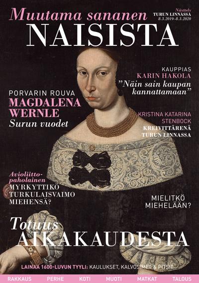 Ajatukset heräävät Turun linnan käytävillä – teemanäyttely kurkistaa 1600-luvun naisten elämään.