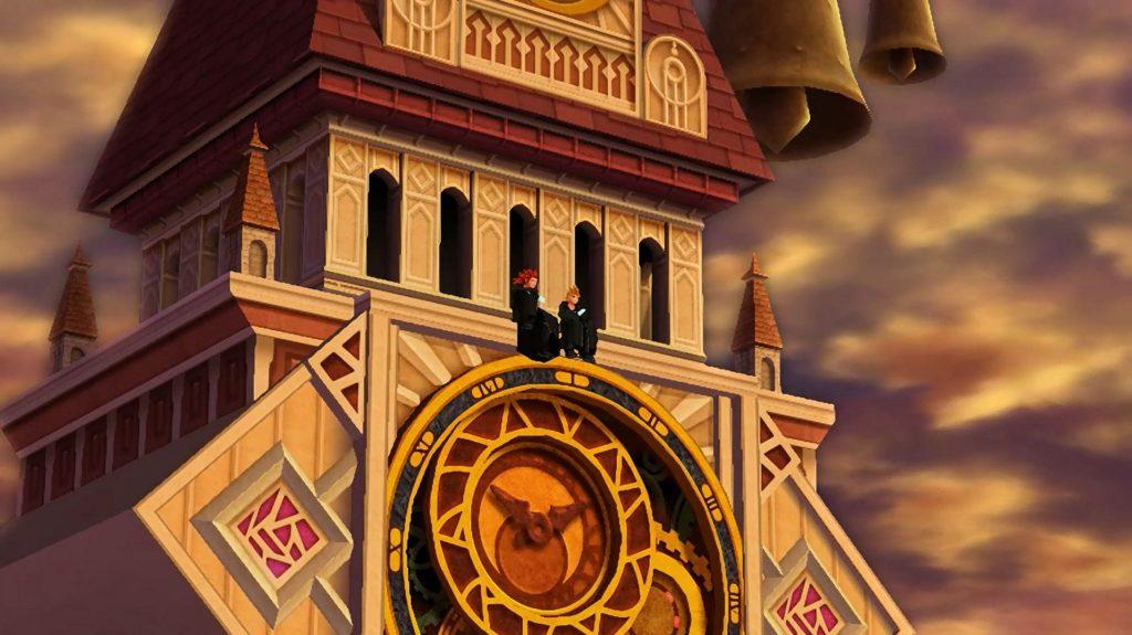 Axel ja Roxas kellotornissa