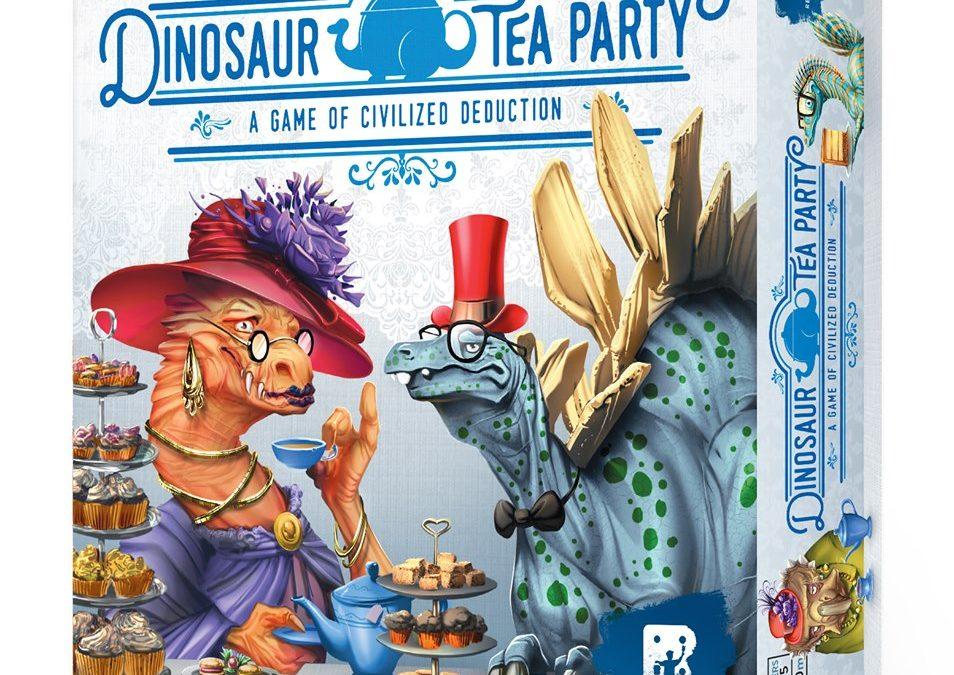 Dinosaurukset teekutsuilla