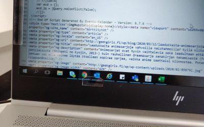 Nörttityttöjen WordPress-ongelmat