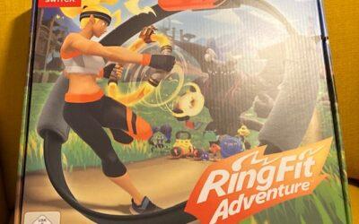 Nintendo Ring Fit – ihanteellinen liikuntamuoto nörtille