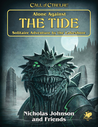 Kuva: Alone Against The Tide -kirjan kansikuva.