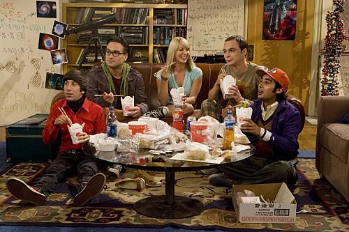 Kultakutri ja neljä nörttiä: The Big Bang Theory