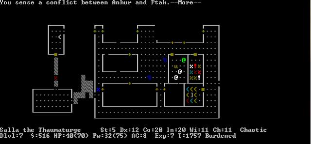 Nörttityttöjen nostalgiapelit, osa 1: Nethack