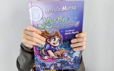 Kirja-arvostelu: Ursula Mursun Myrtti ja noitatukka