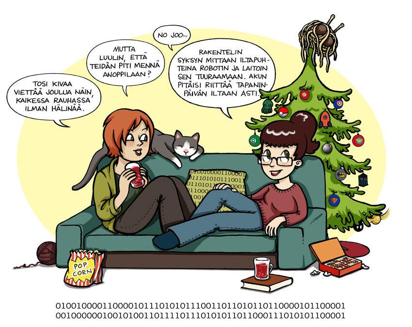 Joulukalenterin luukku 24: Rauhallista joulua!